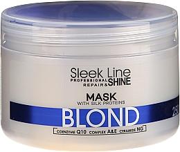 Voňavky, Parfémy, kozmetika Maska na vlasy - Stapiz Sleek Line Blond Hair Mask