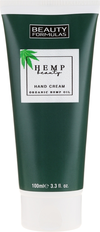 Krém na ruky s konopným olejom - Beauty Formulas Hemp Beauty Oil Hand Cream