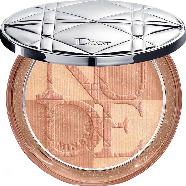 Minerálny kompaktný púder - Dior Diorskin Mineral Nude Bronze Powder (01- Soft Sunrise)