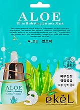 Voňavky, Parfémy, kozmetika Textilná maska na tvár s extraktom z aloe - Ekel Aloe Ultra Hydrating Essence Mask