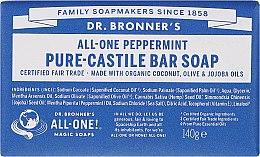 "Voňavky, Parfémy, kozmetika Mydlo ""Mint"" - Dr. Bronner's Pure Castile Bar Soap Peppermint"