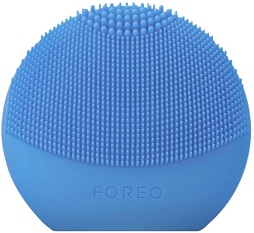 Čistiaca smart-kefka na tvár - Foreo Luna Fofo Smart Facial Cleansing Brush Aquamarine