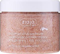 Voňavky, Parfémy, kozmetika Vyhlazujúci a zjemňujúci peeling na pedikúru - Ziaja Pro Scrub Pedicure