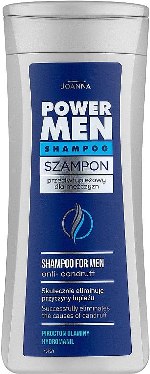Šampón proti lupinám pre mužov - Joanna Power Hair Shampoo Anti-Dandruff — Obrázky N1