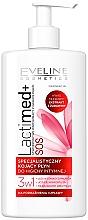 """Voňavky, Parfémy, kozmetika Gél na intímnu hygienu """"Kľukva"""" - Eveline Cosmetics Lactimed+"""