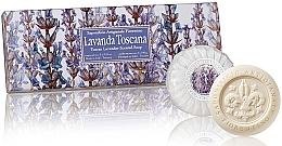 """Voňavky, Parfémy, kozmetika Sada mydla """"Levanduľa """" - Saponificio Artigianale Fiorentino Tuscan Lavender Scented Soap"""