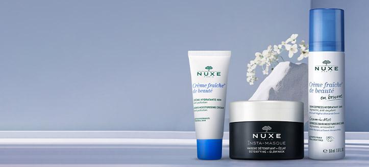 Získaj hydratačný pleťový krém ako darček pri nákupe produktov Nuxe v hodnote vyše 22 €