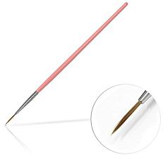 Voňavky, Parfémy, kozmetika Štetec na šperky, 10 mm Pink - Silcare Brush 02