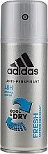 Voňavky, Parfémy, kozmetika Deodorant - Adidas Anti-Perspirant Fresh Cool & Dry 48H