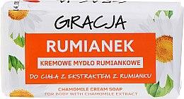Voňavky, Parfémy, kozmetika Toaletné mydlo s extraktom harmančeka - Gracja Rose Cream Soap