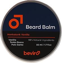 Voňavky, Parfémy, kozmetika Balzam na bradu - Beviro Beard Balm Vanilla, Palo Santo, Tonka Boby