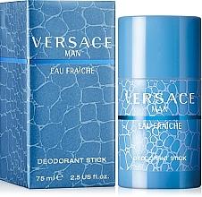 Voňavky, Parfémy, kozmetika Versace Man Eau Fraiche - Tuhý deodorant