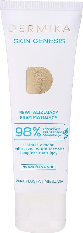 Obnovujúci zmatňujúci krém pre mastnú a zmiešanú pleť - Dermika Skin Genesis