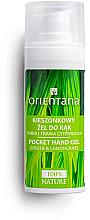 Voňavky, Parfémy, kozmetika Antibakteriálny gél na ruky so zázvorom a citrónovou trávou - Orientana Pocket Hand Gel