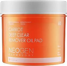 Voňavky, Parfémy, kozmetika Hydrofilné čistiace tampóny s mrkvovým olejom - Neogen Dermalogy Carrot Deep Clear Remover Oil Pad