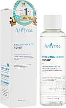 Voňavky, Parfémy, kozmetika Hydratačný toner s kyselinou hyalurónovou - IsNtree Hyaluronic Acid Toner