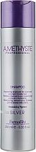 Voňavky, Parfémy, kozmetika Revitalizačný šampón pre sivé a blond vlasy - Farmavita Amethyste Silver Shampoo