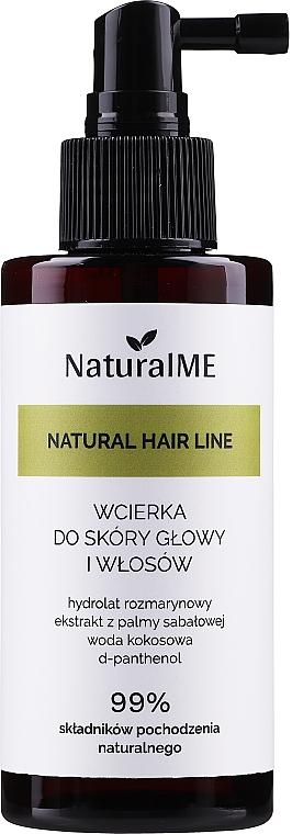 Lotion proti vypadávaniu vlasov - NaturalME Natural Hair Line Lotion