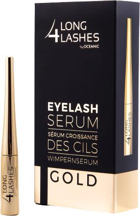 Sérum na stimuláciu rastu mihalníc - Long4lashes EyeLash Gold Serum