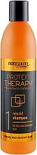 Voňavky, Parfémy, kozmetika Bezsulfátový šampón na vlasy - Prosalon Protein Therapy + Keratin Complex Rebuild Shampoo