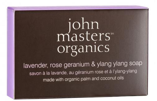 Mydlo na tvár a telo - John Masters Organics Lavender Rose Geranium & Ylang Ylang Soap — Obrázky N1