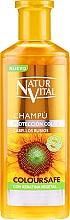 Voňavky, Parfémy, kozmetika Šampón na zachovanie farby farbených vlasov - Natur Vital Coloursafe Henna Colour Shampoo Blonde Hair
