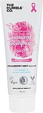 """Voňavky, Parfémy, kozmetika Prírodná zubná pasta """"Jahoda a mäta"""" - The Humble Co. Natural Toothpaste Strawberry Mint"""