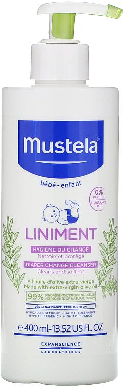 Čistiace mlieko - Mustela Bebe Liniment — Obrázky N2