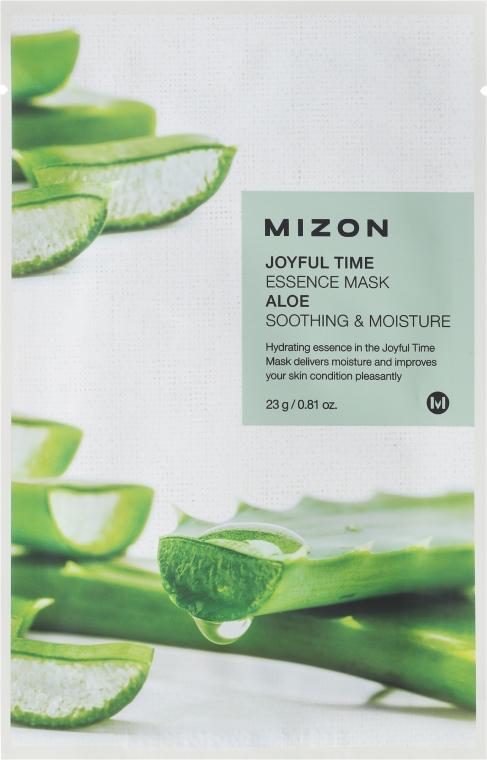 Látková maska s extraktom aloe vera - Mizon Joyful Time Essence Mask Aloe