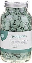 """Voňavky, Parfémy, kozmetika Tabletky pre ústnu vodu """"Mäta"""" - Georganics Mouthwash Tablets Spearmint"""