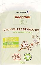 Voňavky, Parfémy, kozmetika Detské vatové tampóny, oválne, 40 ks - Bocoton Bio