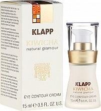 Voňavky, Parfémy, kozmetika Krémový fluid na pokožku okolo očí - Klapp Kiwicha Eye Contour Cream