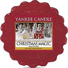 Voňavky, Parfémy, kozmetika Aromatický vosk - Yankee Candle Christmas Magic Tarts Wax Melts