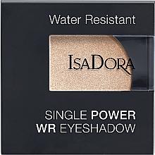 Voňavky, Parfémy, kozmetika Očné tiene - IsaDora Single Power WR Eyeshadow
