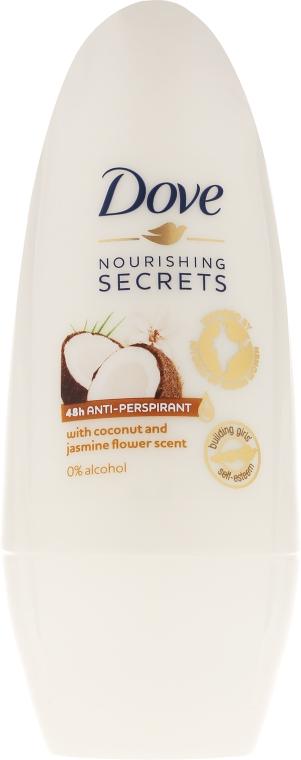 "Guľôčkový antiperspirant ""Kokos a jazmín"" - Dove Nourishing Secrets Restoring Ritual"