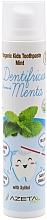"""Voňavky, Parfémy, kozmetika Detská zubná pasta """"Mäta"""" - Azeta Bio Organic Kids Toothpaste Mint"""