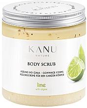 """Voňavky, Parfémy, kozmetika Scrub na telo """"Limetka"""" - Kanu Nature Lime Body Scrub"""