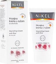 Voňavky, Parfémy, kozmetika Výživný krém na tvár s ruží - Nikel Nourishing Cream with Rose