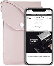 """Voňavky, Parfémy, kozmetika Púzdro a taška na mobil s remienkom, púdrová """"Cross"""" - Makeup Phone Case Crossbody Powder"""
