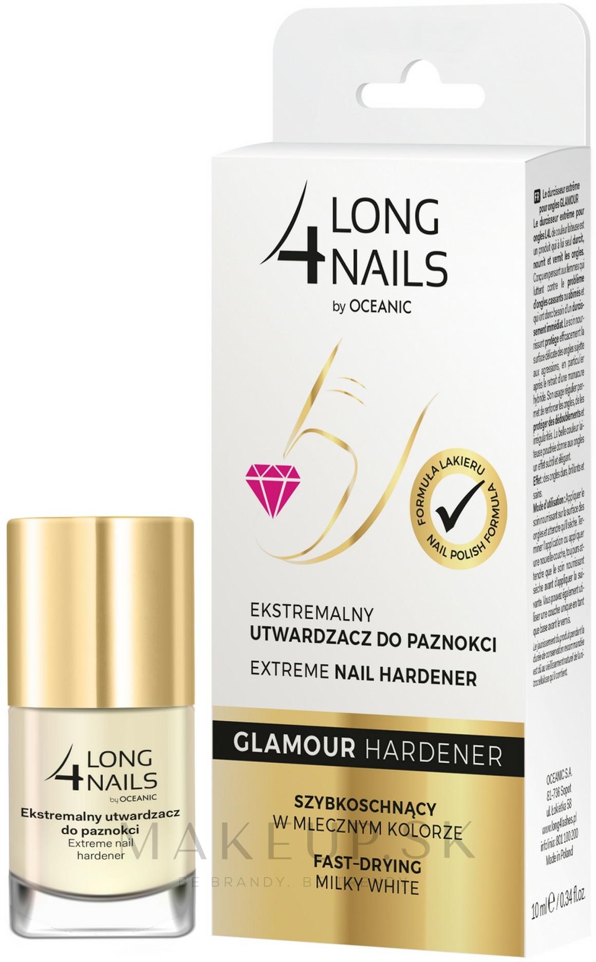 Tvrdidlo na nechty - AA Long 4 Nails Glamour Hardener — Obrázky 10 ml