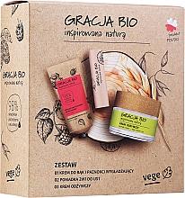 Voňavky, Parfémy, kozmetika Sada - Gracja Bio Inspired Nature (h/cr/50ml + f/cr/50ml + lip/balm/5g)