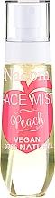 """Voňavky, Parfémy, kozmetika Sprej na tvár """"Broskyňa"""" - Nacomi Face Mist Peach"""