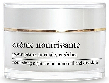 Nočný výživný krém - Yellow Rose Creme Nourrissante