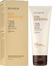 Voňavky, Parfémy, kozmetika Ochranný opaľovací krém s faktorom SPF 20 - Skeyndor Sun Expertise Tanning Control Cream SPF20