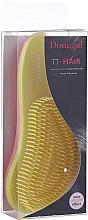 Voňavky, Parfémy, kozmetika Kefa na vlasy 1218, žlto-ružová - Donegal TT-Hair