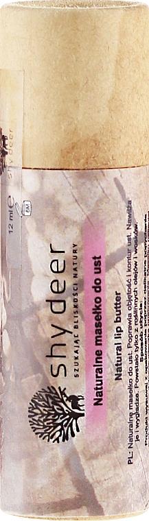 Prírodný olej na pery - Shy Deer Natural Lip Butter