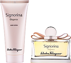 Voňavky, Parfémy, kozmetika Salvatore Ferragamo Signorina Eleganza - Sada (edp/100ml + bl/100ml)