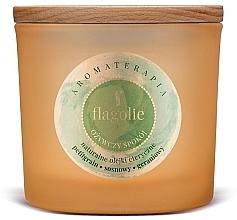 """Voňavky, Parfémy, kozmetika Vonná sviečka v pohári """"Osviežujúca"""" - Flagolie Fragranced Candle Refreshing Peace"""