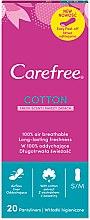 Voňavky, Parfémy, kozmetika Denné hygienické vložky aromatizované, 20 ks - Carefree Cotton Fresh Scent