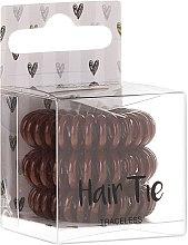 Voňavky, Parfémy, kozmetika Gumičky do vlasov, hnedé - Cosmetic 2K Hair Tie Brown